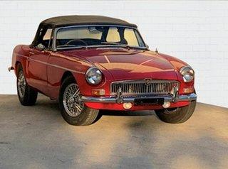 1967 MG MGB Sports Roadster.