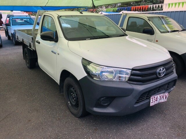 Used Toyota Hilux Workmate, North Rockhampton, 2017 Toyota Hilux Workmate Utility