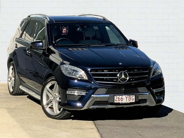 Used Mercedes-Benz ML350 CDI BlueTEC 4x4, Moorooka, 2014 Mercedes-Benz ML350 CDI BlueTEC 4x4 Wagon
