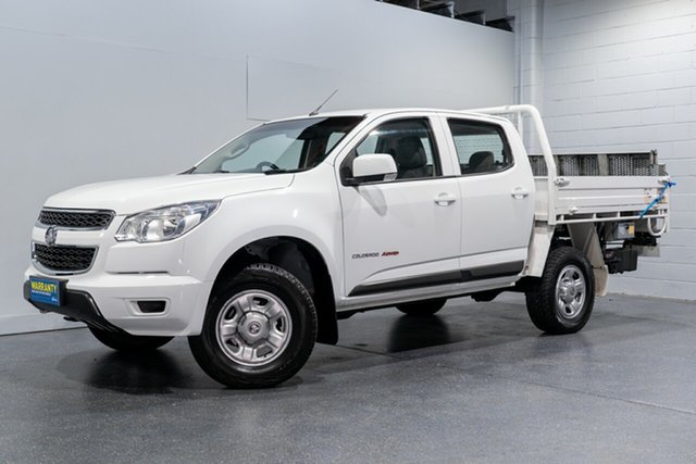 Used Holden Colorado LS (4x4), Slacks Creek, 2016 Holden Colorado LS (4x4) Crew Cab Chassis
