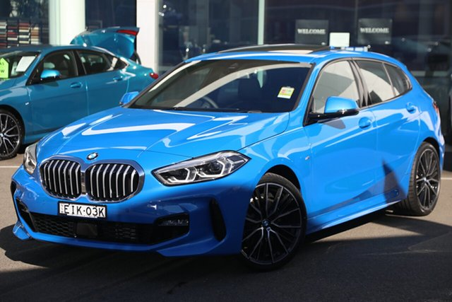Demonstrator, Demo, Near New BMW 118i M Sport, Brookvale, 2020 BMW 118i M Sport Hatchback
