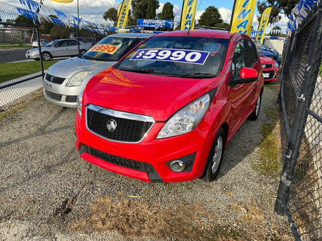 Used Holden Barina Spark CD, Cranbourne, 2011 Holden Barina Spark CD Hatchback