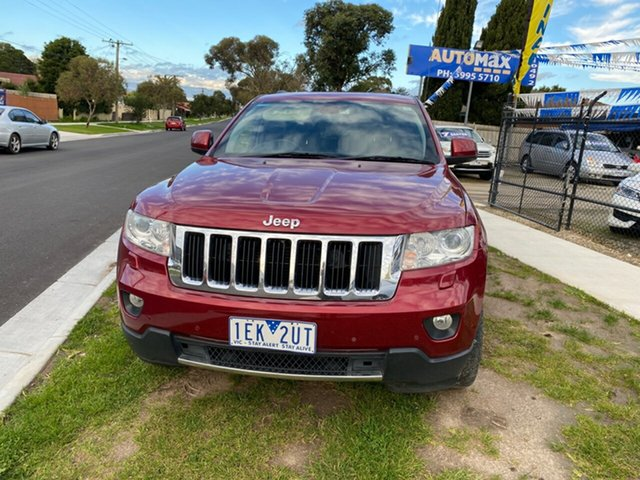 Used Jeep Grand Cherokee Limited, Cranbourne, 2012 Jeep Grand Cherokee Limited