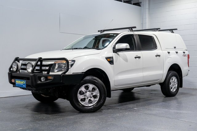 Used Ford Ranger XLS 3.2 (4x4), Slacks Creek, 2014 Ford Ranger XLS 3.2 (4x4) Dual Cab Utility