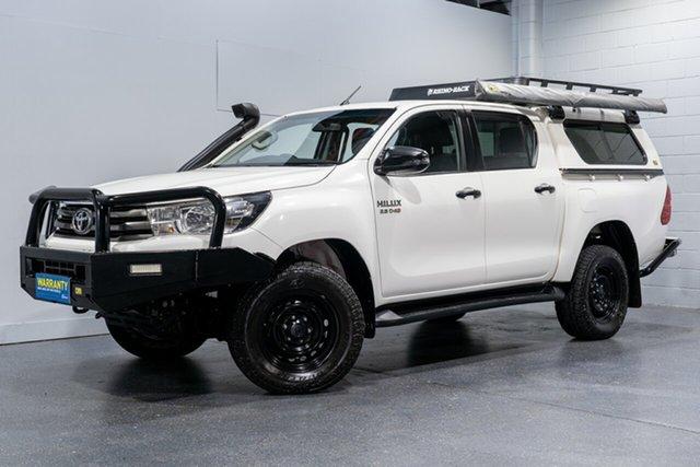 Used Toyota Hilux SR (4x4), Slacks Creek, 2018 Toyota Hilux SR (4x4) Dual Cab Utility