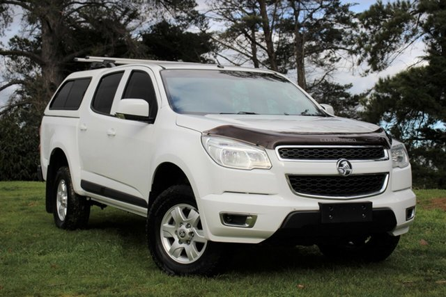Used Holden Colorado LS-X Crew Cab, Officer, 2016 Holden Colorado LS-X Crew Cab Utility