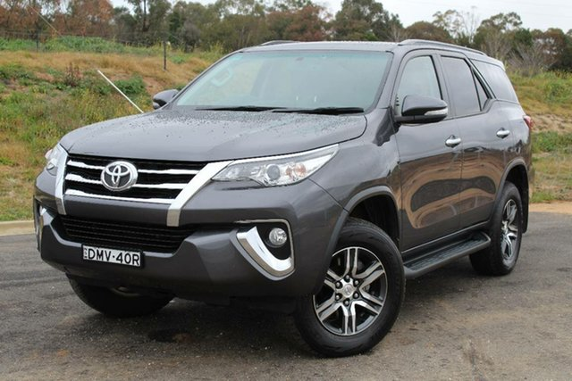 Used Toyota Fortuner GXL, Bathurst, 2017 Toyota Fortuner GXL Wagon
