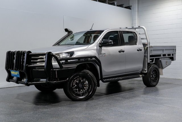 Used Toyota Hilux SR (4x4), Slacks Creek, 2018 Toyota Hilux SR (4x4) Dual Cab Chassis