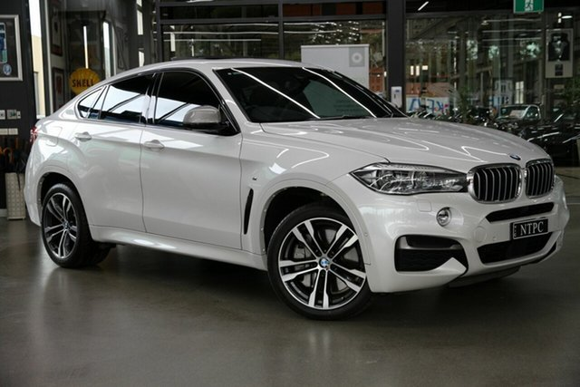 Used BMW X6 M50d Coupe Steptronic, North Melbourne, 2017 BMW X6 M50d Coupe Steptronic Wagon