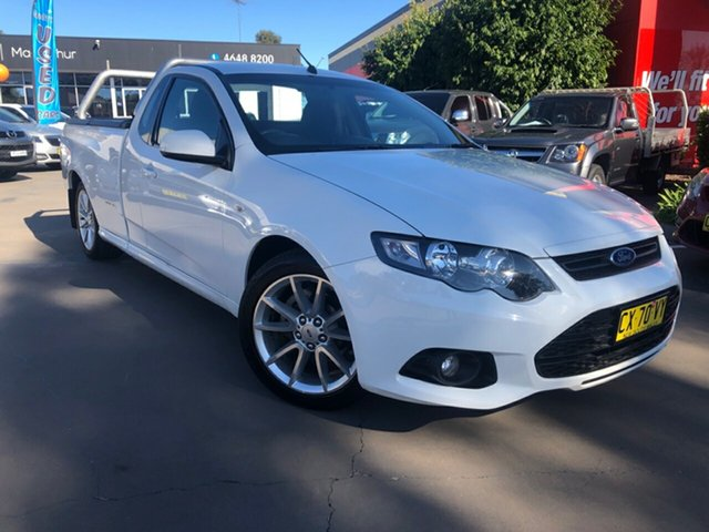 Used Ford Falcon XR6 Ute Super Cab EcoLPi, Narellan, 2014 Ford Falcon XR6 Ute Super Cab EcoLPi Utility