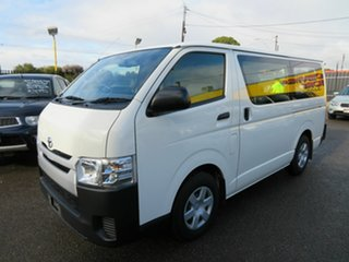 2016 Toyota HiAce LWB Van.