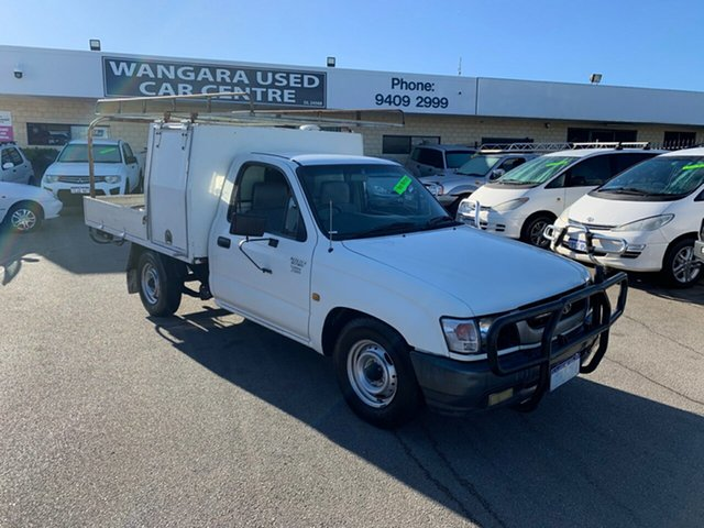 Used Toyota Hilux Workmate, Wangara, 2002 Toyota Hilux Workmate Cab Chassis