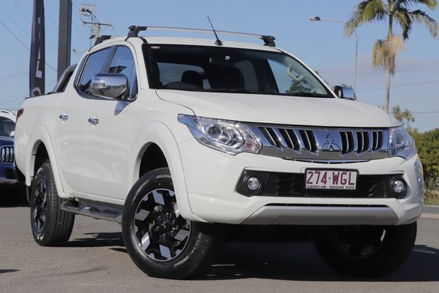 Used Mitsubishi Triton Exceed Double Cab, Bowen Hills, 2015 Mitsubishi Triton Exceed Double Cab Utility