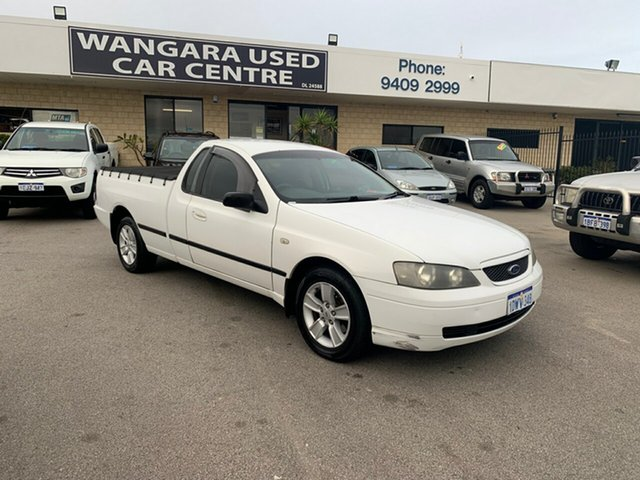 Used Ford Falcon XL SE, Wangara, 2003 Ford Falcon XL SE Utility