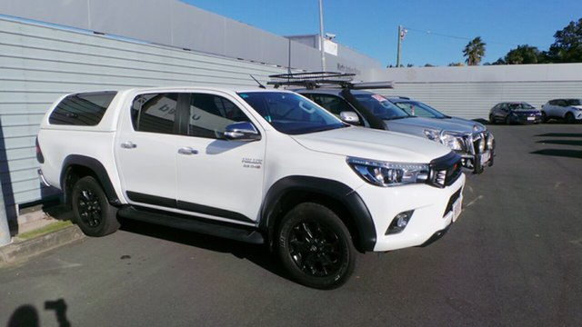 Used Toyota Hilux SR5 Double Cab, Morayfield, 2017 Toyota Hilux SR5 Double Cab Utility