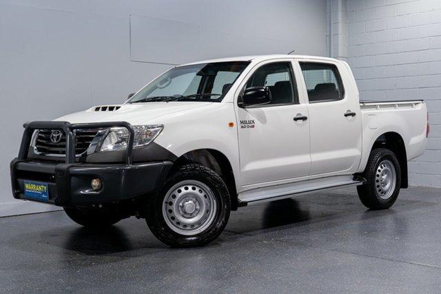 Used Toyota Hilux SR (4x4), Slacks Creek, 2015 Toyota Hilux SR (4x4) Dual Cab Pick-up