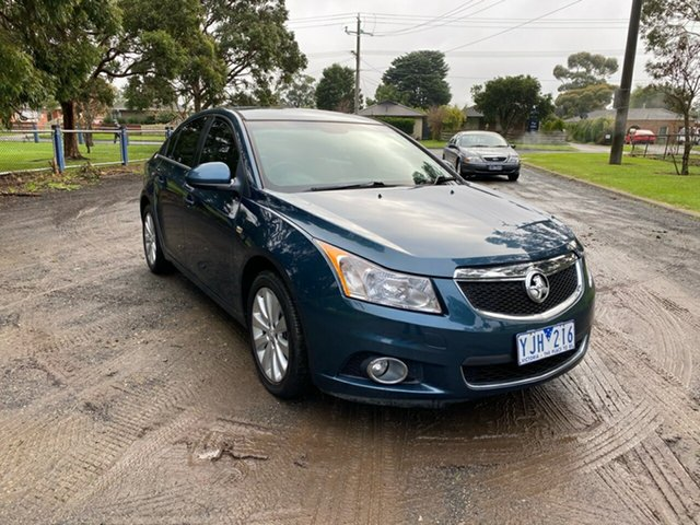Used Holden Cruze CDX, Cranbourne, 2011 Holden Cruze CDX Sedan