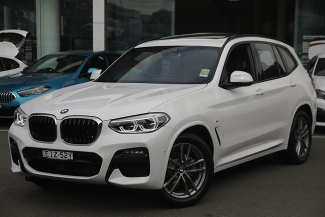 Demonstrator, Demo, Near New BMW X3 xDrive20d M Sport, Brookvale, 2020 BMW X3 xDrive20d M Sport Wagon
