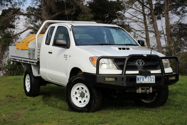 Used Toyota Hilux SR Xtra Cab, Officer, 2008 Toyota Hilux SR Xtra Cab Cab Chassis