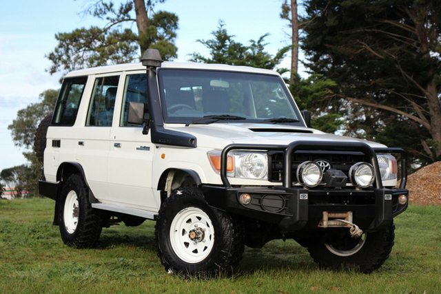 Used Toyota Landcruiser Workmate, Officer, 2013 Toyota Landcruiser Workmate Wagon