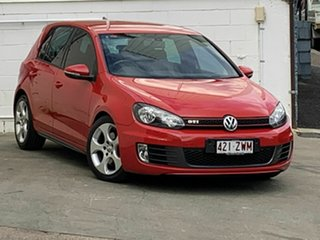 2010 Volkswagen Golf GTi Hatchback.