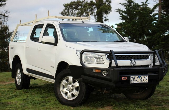 Used Holden Colorado LT Crew Cab, Officer, 2013 Holden Colorado LT Crew Cab Utility