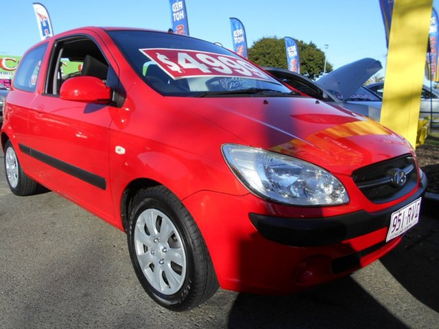 Used Hyundai Getz S, Slacks Creek, 2009 Hyundai Getz S Hatchback