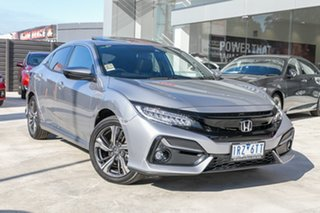 Demonstrator, Demo, Near New Honda Civic VTi-LX, Springvale, 2020 Honda Civic VTi-LX 10th Gen MY20 Hatchback