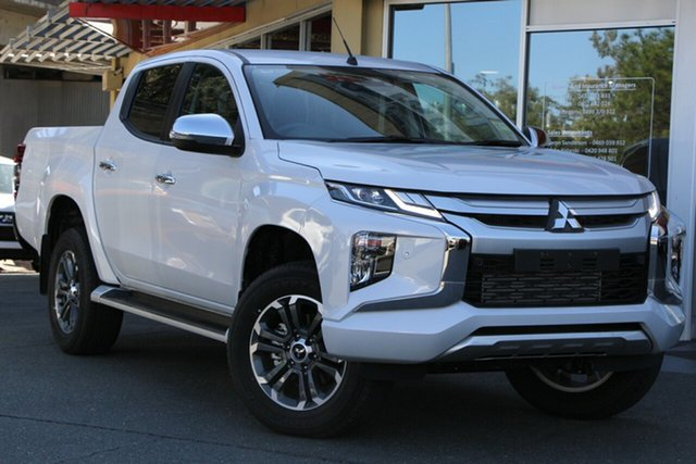 Demonstrator, Demo, Near New Mitsubishi Triton GLS Double Cab, Toowong, 2019 Mitsubishi Triton GLS Double Cab MR MY19 Utility