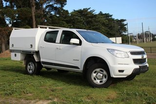 2016 Holden Colorado LS Crew Cab 4x2 Cab Chassis.