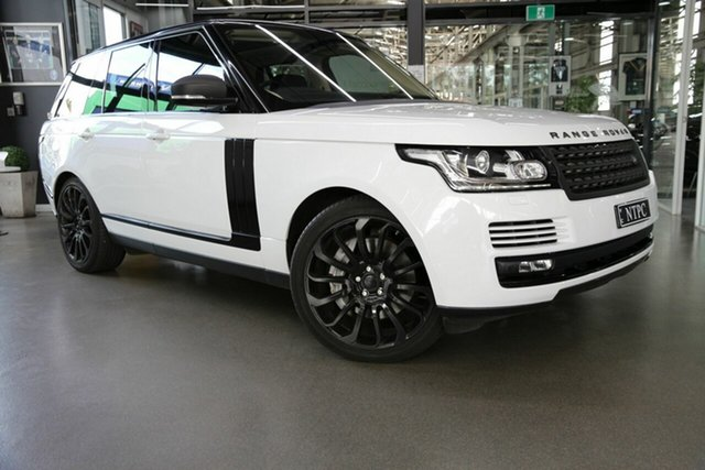 Used Land Rover Range Rover SDV8 Vogue SE, North Melbourne, 2014 Land Rover Range Rover SDV8 Vogue SE Wagon