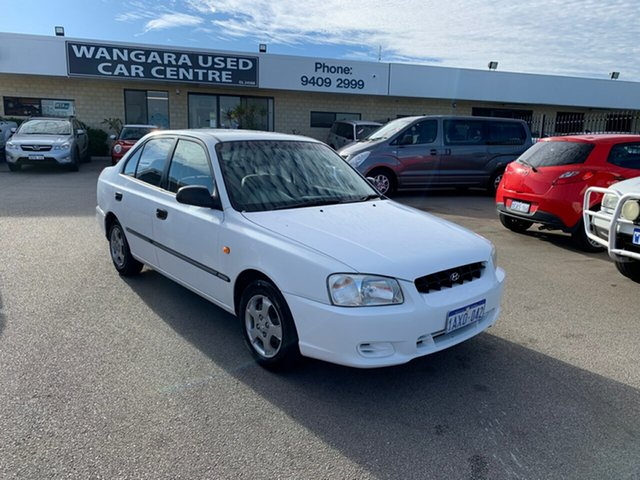 Used Hyundai Accent GL, Wangara, 2001 Hyundai Accent GL Sedan