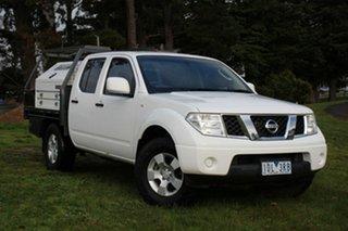 2013 Nissan Navara ST Utility.
