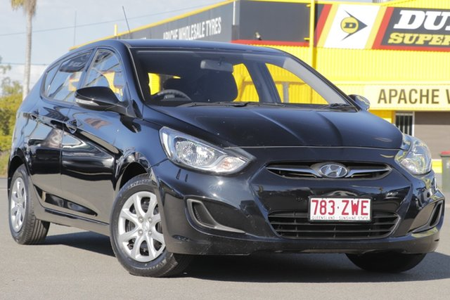 Used Hyundai Accent Active, Toowong, 2013 Hyundai Accent Active Hatchback
