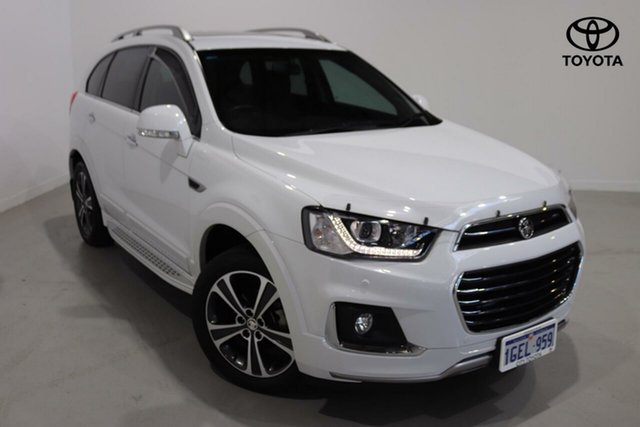 Used Holden Captiva LTZ AWD, Northbridge, 2016 Holden Captiva LTZ AWD Wagon