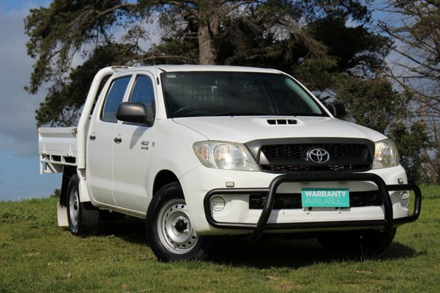 Used Toyota Hilux SR Double Cab 4x2, Officer, 2011 Toyota Hilux SR Double Cab 4x2 Utility