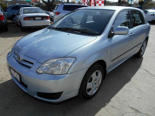 Discounted Used Toyota Corolla Ascent Seca, Werribee, 2005 Toyota Corolla Ascent Seca Hatchback