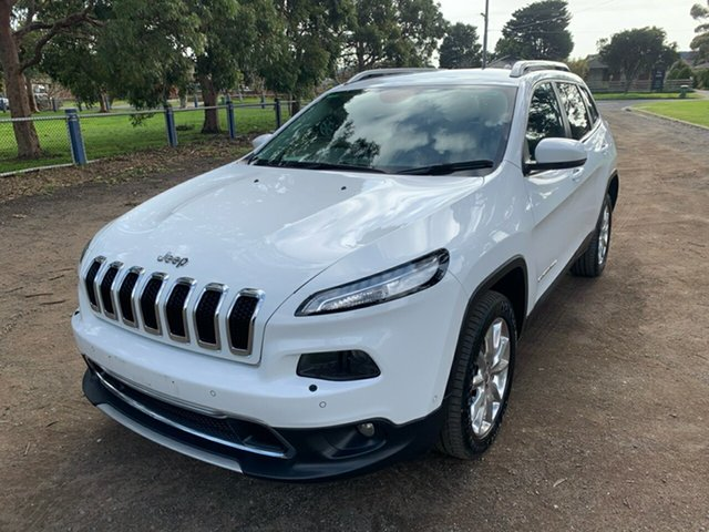 Used Jeep Cherokee Limited, Cranbourne, 2015 Jeep Cherokee Limited Wagon