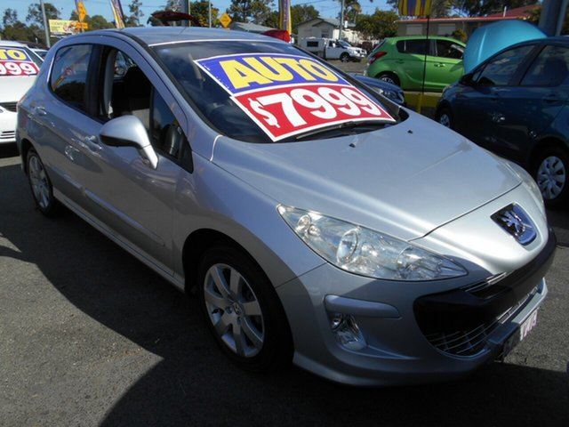 Used Peugeot 308 XSE, Slacks Creek, 2009 Peugeot 308 XSE Hatchback
