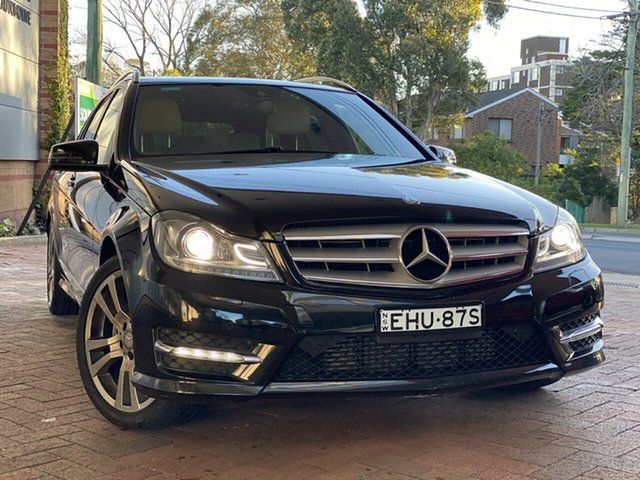 Used Mercedes-Benz C-Class C250 Estate 7G-Tronic + Avantgarde, Artarmon, 2013 Mercedes-Benz C-Class C250 Estate 7G-Tronic + Avantgarde Wagon
