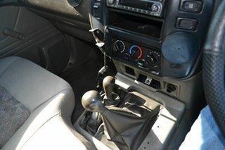 2002 Nissan Patrol DX (4x4) Leaf Cab Chassis.