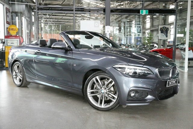 Used BMW 2 Series 220i M Sport, North Melbourne, 2018 BMW 2 Series 220i M Sport Convertible