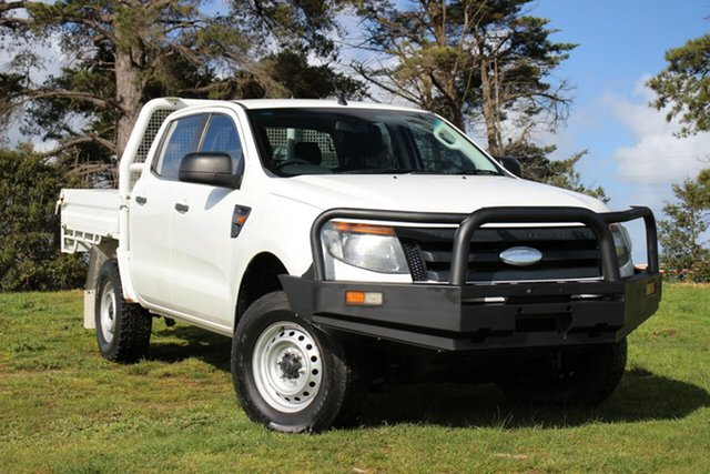 Used Ford Ranger XL Double Cab, Officer, 2011 Ford Ranger XL Double Cab Cab Chassis