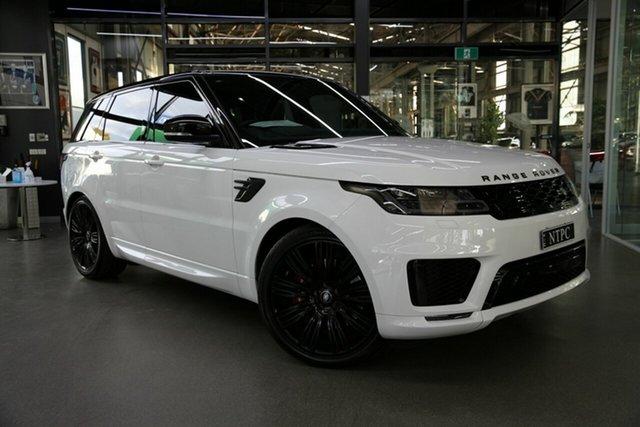 Used Land Rover Range Rover Sport V8SC HSE Dynamic, North Melbourne, 2018 Land Rover Range Rover Sport V8SC HSE Dynamic Wagon