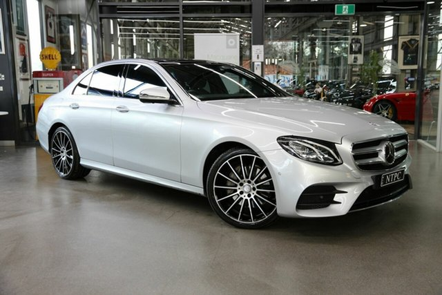 Used Mercedes-Benz E200 9G-Tronic PLUS, North Melbourne, 2016 Mercedes-Benz E200 9G-Tronic PLUS Sedan