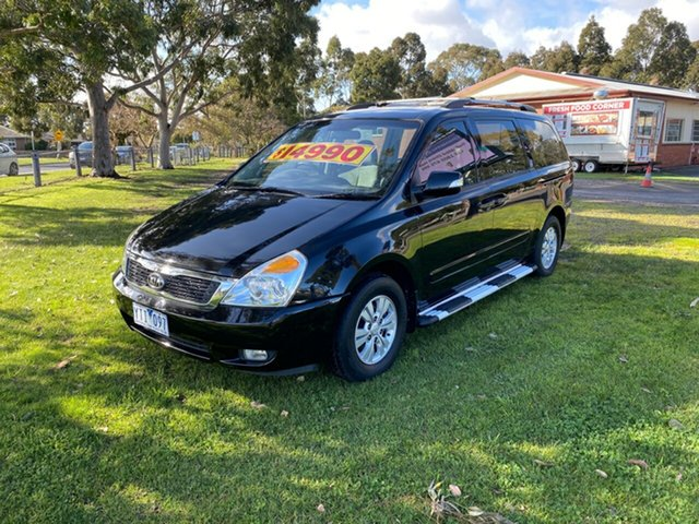 Used Kia Grand Carnival Si Tiptronic, Cranbourne, 2011 Kia Grand Carnival Si Tiptronic Wagon