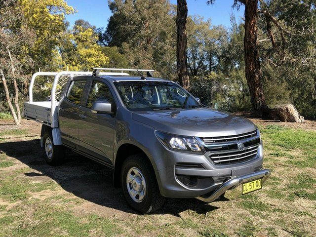 Used Holden Colorado LS Crew Cab 4x2, Queanbeyan, 2017 Holden Colorado LS Crew Cab 4x2 Cab Chassis