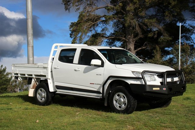 Used Holden Colorado LX Crew Cab, Officer, 2014 Holden Colorado LX Crew Cab Cab Chassis