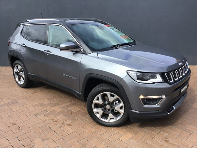 Discounted Demonstrator, Demo, Near New Jeep Compass Limited, Warwick Farm, 2020 Jeep Compass Limited SUV