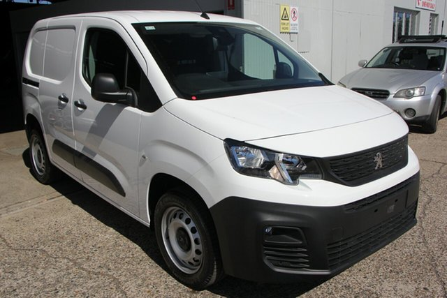 New Peugeot Partner 130 Low Roof MWB THP, Bowen Hills, 2020 Peugeot Partner 130 Low Roof MWB THP Van